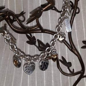 Brighton Collectables Peace Charm Bracelet